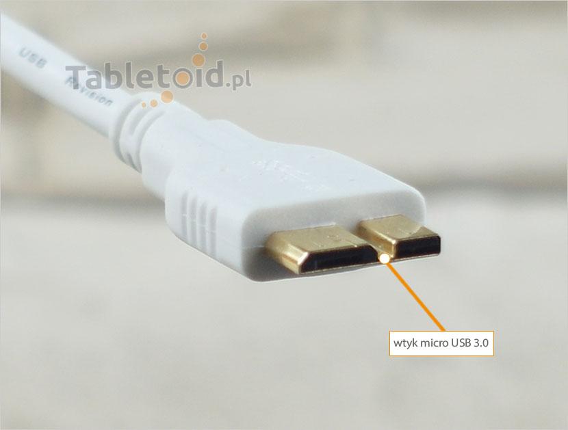 wtyk micro USB 3.0