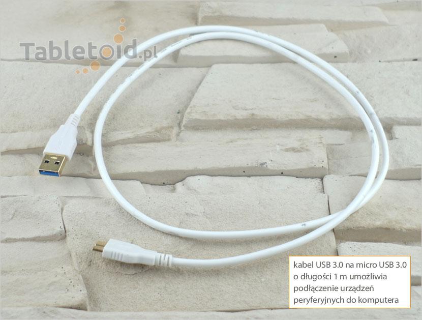kabel USB 3.0 do micro USB 3.0