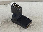 Łącznik kabli HDMI - kątowy 360 stopni