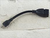 Adapter na kablu microUSB