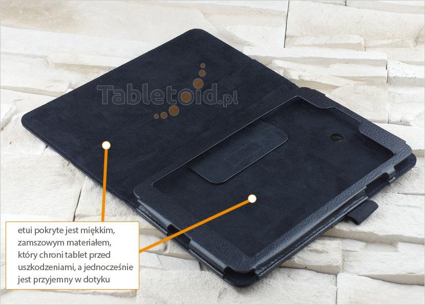 Materiał -pokrowca do LG G Pad 8.0