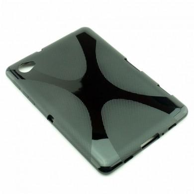 CZARNE silikonowe etui do tabletu Samsung Galaxy Tab 7.7 (GT-P6800)