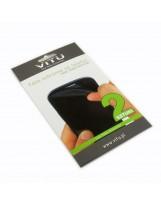 Folia na telefon HTC One V - poliwęglanowa, dedykowana, ochronna, 2 sztuki