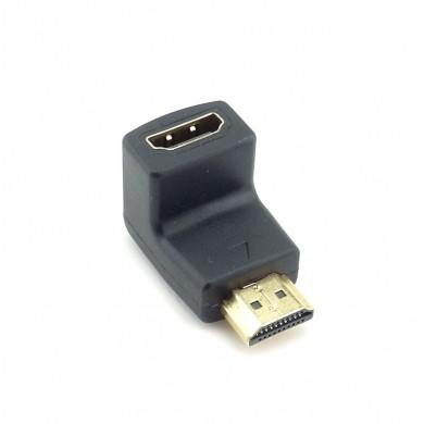 Adapter HDMI żeńsko – męski kątowy 270 stopni