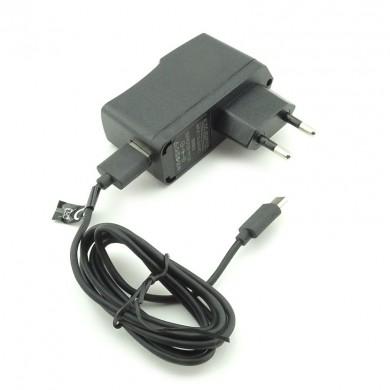 Ładowarka sieciowa z kablem USB 2.0 wtyk USB-C uniwersalna