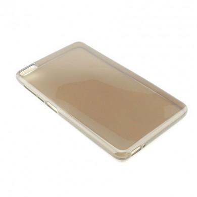 BRĄZOWE silikonowe etui do tabletu Huawei MediaPad M2 7.0 Youth Edition TD-LTE PLE-703L