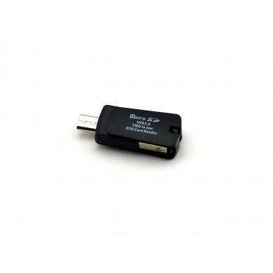 Czytnik kart mikro SD - mikro USB 2.0 2w1