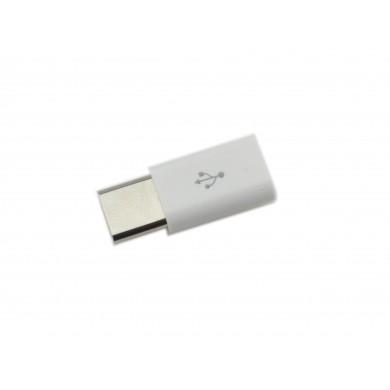Przejściówka USB typu C: gniazdo micro USB wtyk USB-C