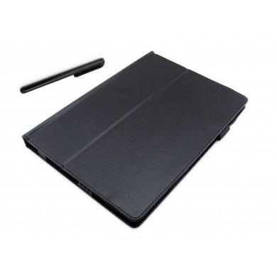 CZARNE etui książkowe na tablet Lenovo Miix 310 10.1 cala z możliwością włożenia z klawiaturą