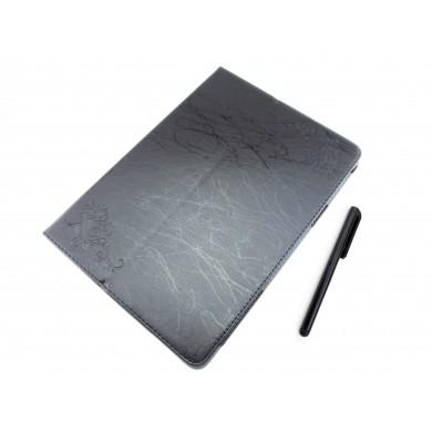 CZARNE etui książkowe na tablet Chuwi Hi10 plus / Vi10 plus 10.8 cala