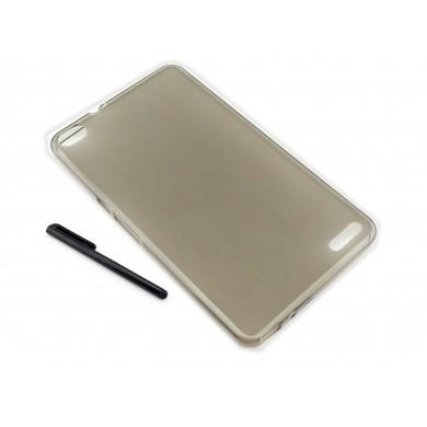 CZARNE / GRAFITOWE etui elastyczne (plecki) na tablet Huawei Honor X2 7 cali