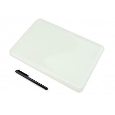 CZARNE etui elastyczne (plecki) na tablet Huawei MediaPad T3 10 AGS-L09 AGS-L03 9.6 cala