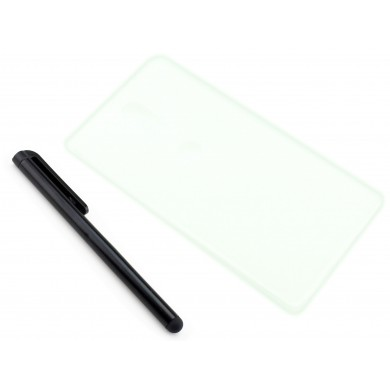 Grafitowe, elastyczne etui na telefon / phablet / tablet Lenovo PHAB 2 Plus PB2-670N, 670M, 670 6.4 cala