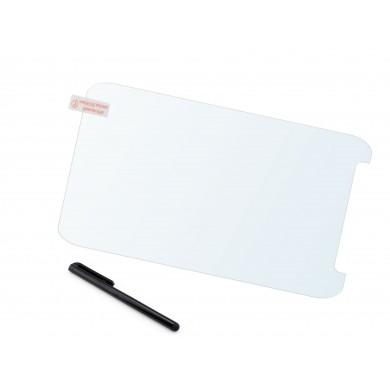 Dedykowane szkło hartowane do tabletu - uniwersalne 7 cali 180 x 100 mm z otworem