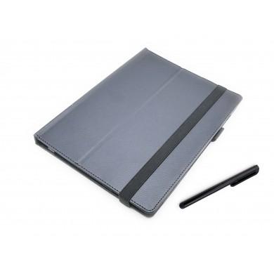 CZARNE etui książkowe na tablet Lenovo MiiX 320 10ICR 10,1 cala  z możliwością włożenia z klawiaturą