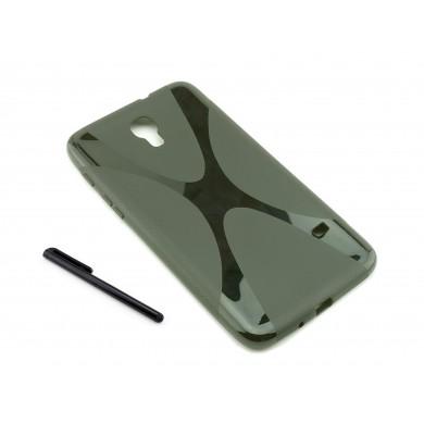 Czarne silikonowe etui do tabletu Samsung Galaxy Tab Q T2519, 2556, 2558