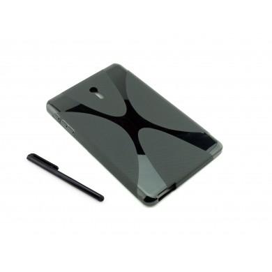 Czarne silikonowe etui do tabletu Huawei MediaPad 7 Youth (S7-701U)