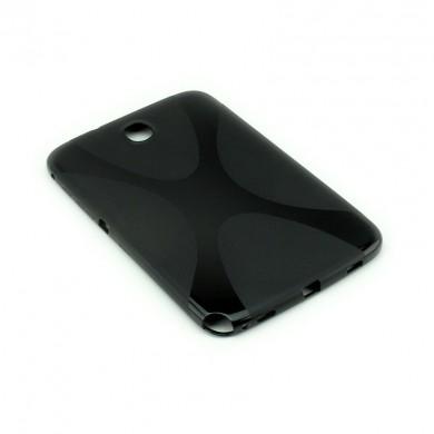 Dedykowane, silikonowe etui (plecki) do tabletu Samsung Galaxy Note 8.0 (N5100/N5110) – czarne, dopasowane