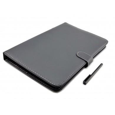 Etui z klawiaturą USB do tabletu 10,1 cala, pokrowiec na tablet Kiano Core 10.1 Dual 3G, Shiru, Tracer, Yarvik
