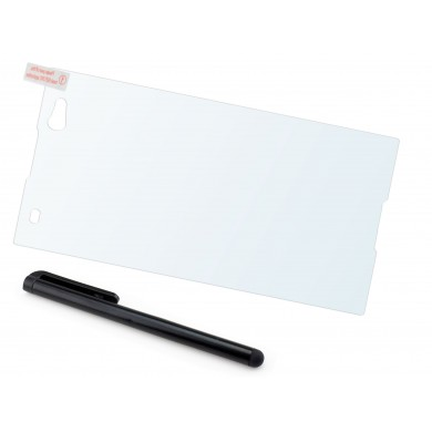 Szkło hartowane na telefon Sony Xperia C3 (tempered glass) + GRATISY