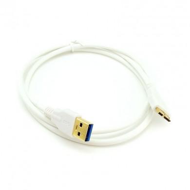 Kabel: micro USB 3.0 do USB 3.0 – do tabletu