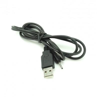 Przewód do ładowania tabletów: wtyk okrągły 2,0 mm  wtyk USB