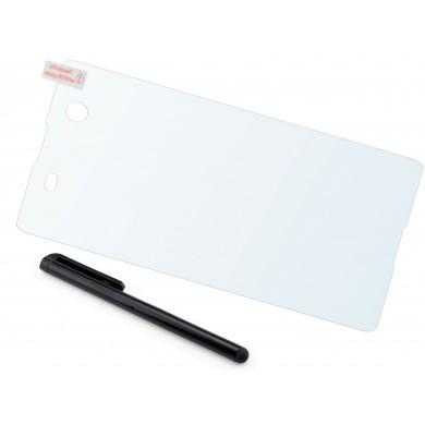 Szkło hartowane na telefon Sony Xperia M4 Aqua (tempered glass) + GRATISY