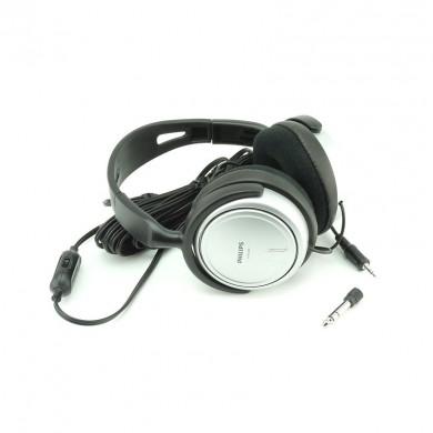 Słuchawki nauszne duże Philips SHP2500 na mini-jack 3,5 mm do tabletu