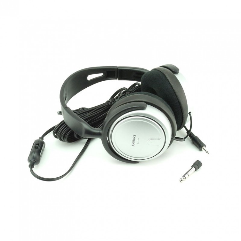 Słuchawki Nauszne Duże Philips Shp2500 Na Mini Jack 3 5 Mm Do Tabletu Tabletoid Pl