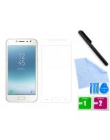 Zaokrąglone szkło hartowane 3D do telefonu Samsung Galaxy J2 pro 2018 SM-J250N, tempered glass w dobrej cenie