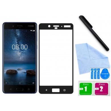 Zaokrąglone szkło hartowane 3D do telefonu Nokia 8