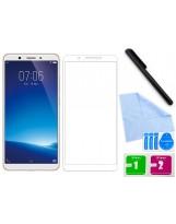 Zaokrąglone szkło hartowane 3D do telefonu Vivo Y71 w dobrej cenie, na cały ekran, curved, tempered glass, 9H