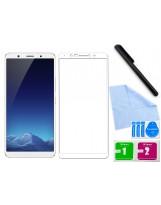 Zaokrąglone szkło hartowane 3D do telefonu  Vivo X20 w dobrej cenie, na cały ekran, curved, tempered glass, 9H
