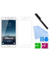 Zaokrąglone szkło hartowane 3D do telefonu Samsung Galaxy C8 (SM-C7100)