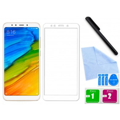 Zaokrąglone szkło hartowane 3D do telefonu Xiaomi Redmi Note 5- dobra cena, 9h, tempered glass