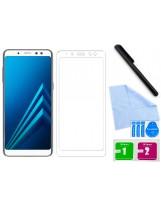 Zaokrąglone szkło hartowane 3D do telefonu Samsung Galaxy A8+ (Plus) 2018 (SM-A730F)na cały ekran, 9H