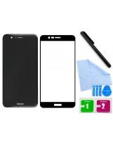 Zaokrąglone szkło hartowane 3D do telefonu Huawei Honor V9 (DUK-AL20), w dobrej cenie, tempered glass, 9h