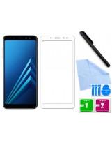 Zaokrąglone szkło hartowane 3D do telefonu Samsung Galaxy A8 2018 (SM-A530F, SM-A530X) na cały ekran, 9H