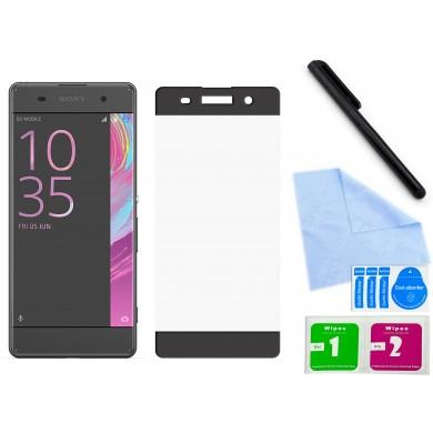 Zaokrąglone szkło hartowane 3D do telefonu Sony Xperia XA F3111, F3113, F3115 - kolory
