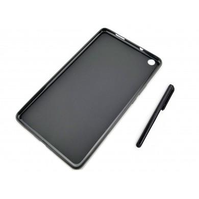 CZARNE elastyczne etui (plecki) do tabletu Huawei MediaPad C5 8.0