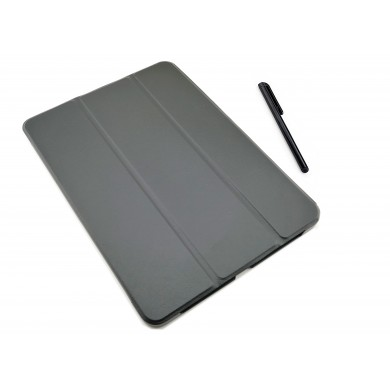 CZARNE etui zamykane (książkowe) do tabletu Lenovo Tab P10 TB-X705F, L, M