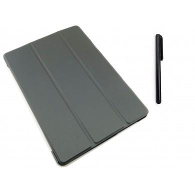 CZARNE etui zamykane (książkowe) do tabletu Huawei Honor WaterPlay HDN-W09, L09 10,1 cala
