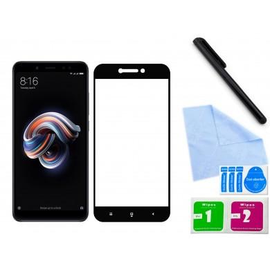 Zaokrąglone szkło hartowane 3D do telefonu Xiaomi Redmi 5A- dobra cena, 9h, tempered glass