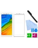 Zaokrąglone szkło hartowane 3D do telefonu Xiaomi Redmi 5- dobra cena, 9h, tempered glass