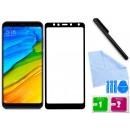 Zaokrąglone szkło hartowane 3D do telefonu Xiaomi Redmi 5 Plus- dobra cena, 9h, tempered glass