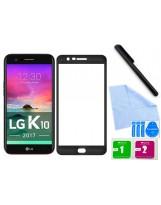 Zaokrąglone szkło hartowane 3D do telefonu LG K10 2017
