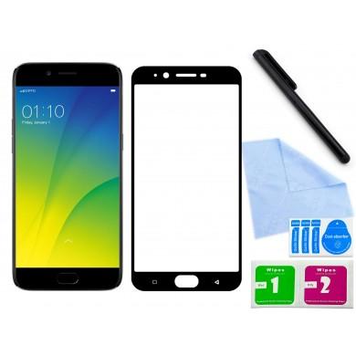 Zaokrąglone szkło hartowane 3D do telefonu Oppo R9s, w dobrej cenie, tempered glass