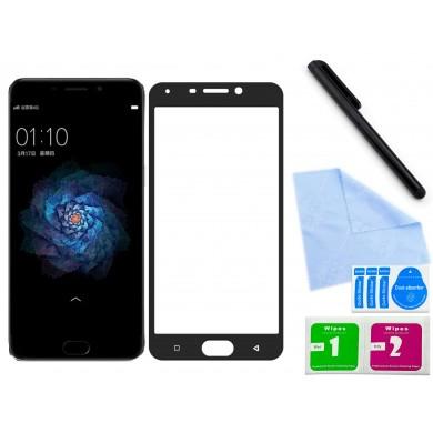 Zaokrąglone szkło hartowane 3D do telefonu Oppo R9 , 9H, tempered glass