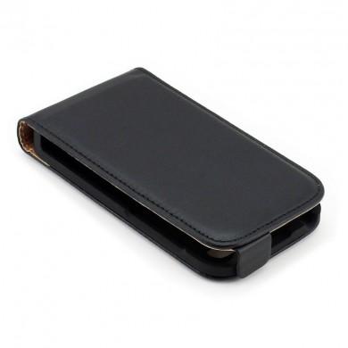 Pokrowiec ze skóry ekologicznej do telefonu BlackBerry Q5