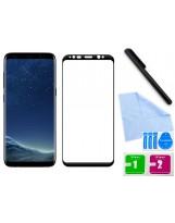 Zaokrąglone szkło hartowane 3D do telefonu Samsung Galaxy S8, temepered glass w dobrej cenie
